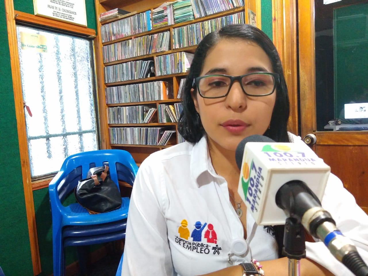 Angélica Soler de la Agencia Pública de Empleo SENA Regional Guaviare