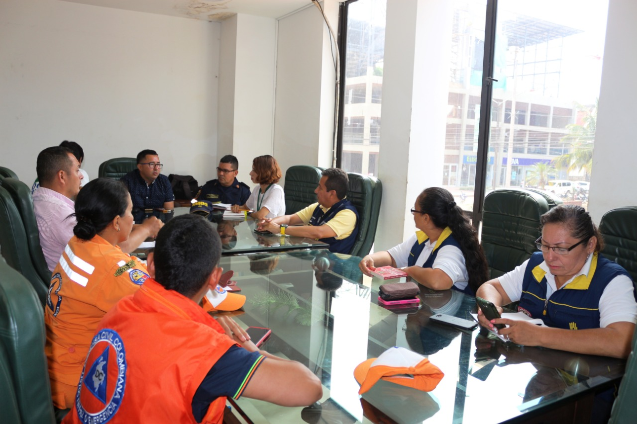 Reunión Comité extraordinario de Gestión del Riesgo Municipal . Foto/ Prensa Alcaldía San José