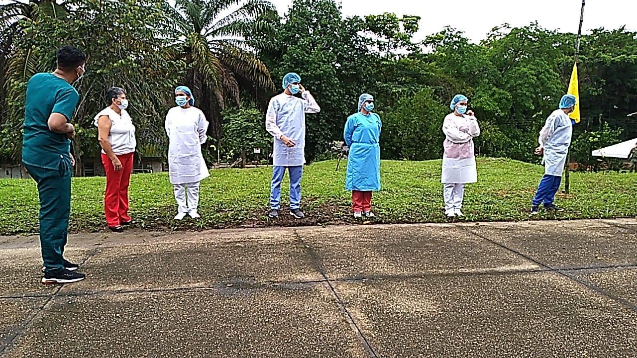 Brigada de servicios llegó a Puerto Arturo, San José del Guaviare